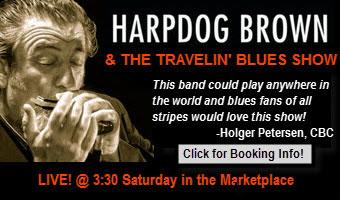 Harpdog Brown ad