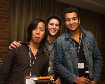 2012 OCFF Conference - Jon Wong, Colin Gray and Jordan MacDonald