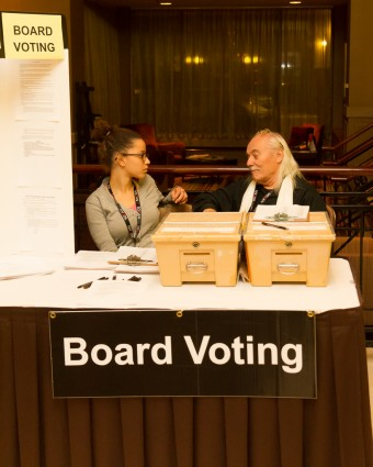 2012 OCFF Conference - Board Voting booth