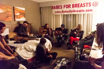 2012 OCFF Conference - Babes for Breasts private showcase