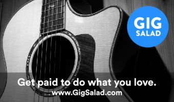 Gig Salad Sponsor Ad