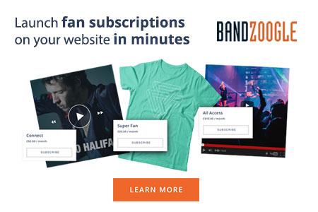 Bandzoogle ad