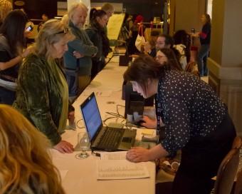 2012 OCFF Conference - Registration Area