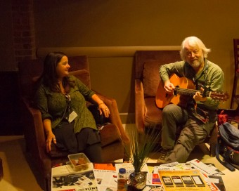 2012 OCFF Conference - Jamming in the lobby at the Delta Meadowvale