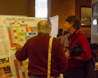 2012 OCFF Conference - Checking the schedule