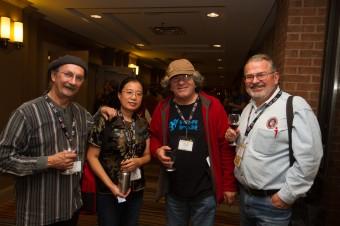 2012 OCFF Conference - André Thibault, Qiu Xia He, Gilles Garand and Ian Davies