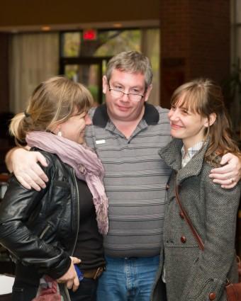 2012 OCFF Conference - Kerri Ough, Peter MacDonald and Sue Passmore